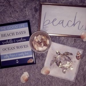 Ocean Waves Beach Decor